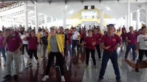 Peringati HKN ke 52 Pemkab Minsel Gelar Jalan Sehat dan Senam Zumba