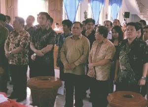 Pelantikan Panitia Hapsa P/KB GMIM tahun 2017