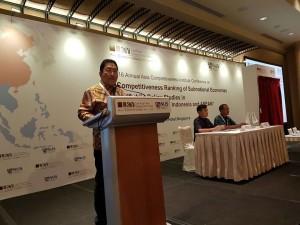 Konferensi Tahunan ACI , Asia Competitiveness Institute, Edwin Silangen,