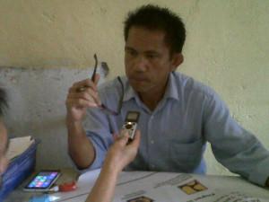 Kecamatan Sonder , Hibah Air Bersih, Plt PDAM unit Sonder. Roy Sumangkup,