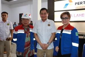 Kunjungi PT PGE Tomohon, Menteri ESDM Minta Pertamina dan PLN Kurangi Polusi