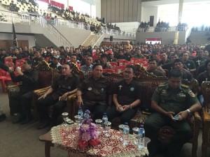 Ribuan Panji Yosua yang menghadiri temu pelayanan di wale Ne Tou Tondano Minahasa