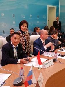 Wali Kota Tomohon Jimmy F Eman SE Ak dan Ketua DPRD Ir Miky JL Wenur