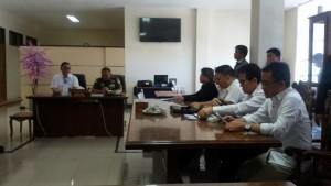 SBAN Liow , Eks Rindam, Pangdam 13 Merdeka, Mayjen TNI Ganip Warsito