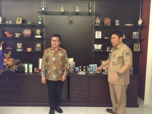 Kunjungan SBAN Liow di Dinas Koperasi dan UMKM Sulut