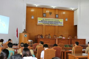 Workshop SIRUP Pemkot Tomohon