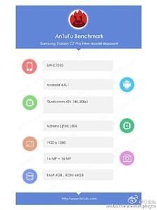 Samsung Galaxy C7 Pro Akan Miliki Kamera Depan dan Belakang 16 MP