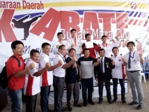 Penutupan Kejuaraan Karate di Mitra
