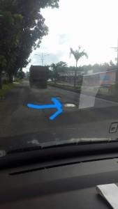 Jalan Trans Sulawesi , jalan berlubang,