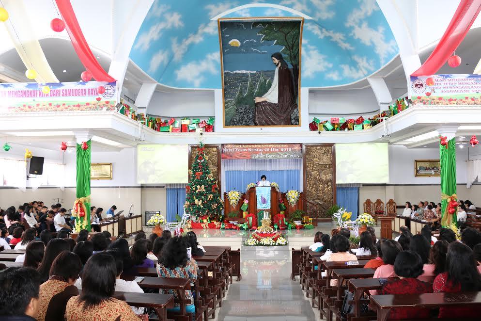 Ibadan menymabut Natal  Dinas Dikda Kota Tomohon