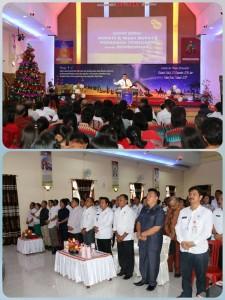 Kecamatan Silian ,Gereja Bethany Indonesia, perayaan Natal