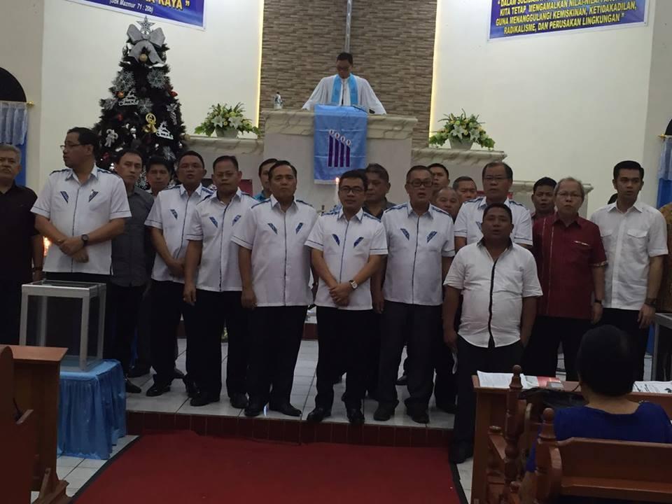 Komisi P/KB Sinode GMIM di kegiatan Sosialisasi Program dan Ibadah Menyambut Natal Yesus Kristus