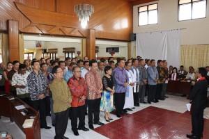 Panitia HUT P/KB GMIM ke-55 Tahun 2017 Dilantik