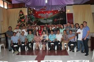 Ketua DPRD Tomohon Ir Miky JL Wenur di Ibadah Natal JIT