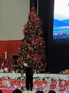 Christiany Eugenia Paruntu,  Frangky Donny Wongkar, Natal Nasional ,  Jokowidodo,