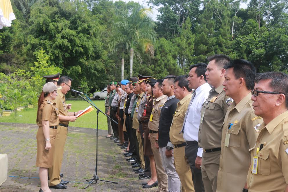 Pelantikan Satgas Saber Pungli di Kota Tomohon