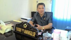 Wakil Ketua DPRD Tomohon Youdy YY Moningka SIP