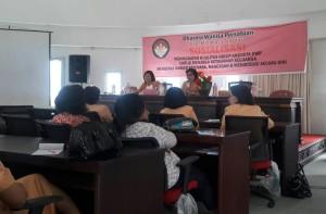 Kanker Payudara, DWP  Minahasa Tenggara, ketahanan keluarga, Ir Linda Sumenge,