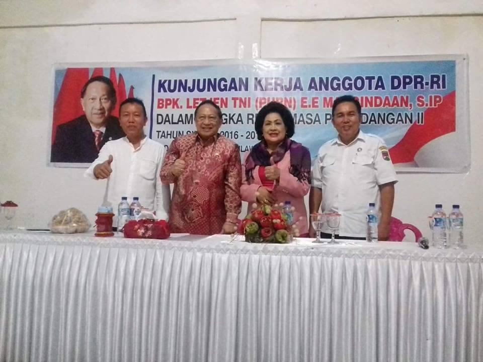 EE mangindaan reses di Minahasa Tenggara