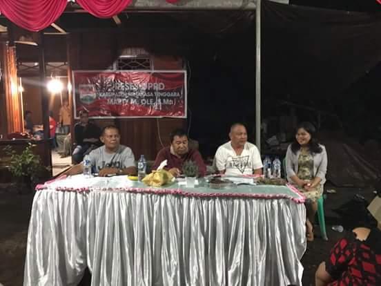 Bupati james Sumendap dan tiga anggota DPRD Mitra sata serap aspirasi