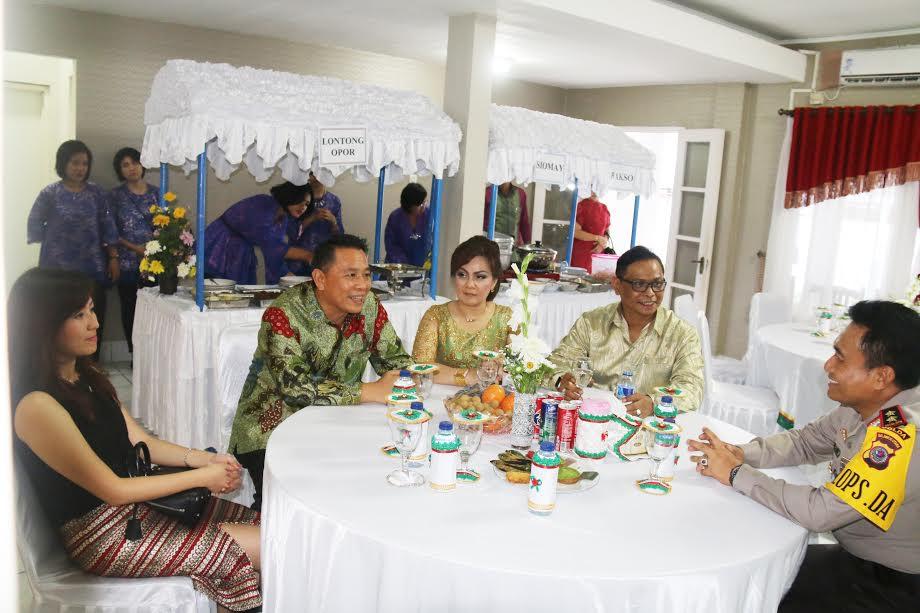 Wali Kota  dan Wawali bersama Kapolda Sulut