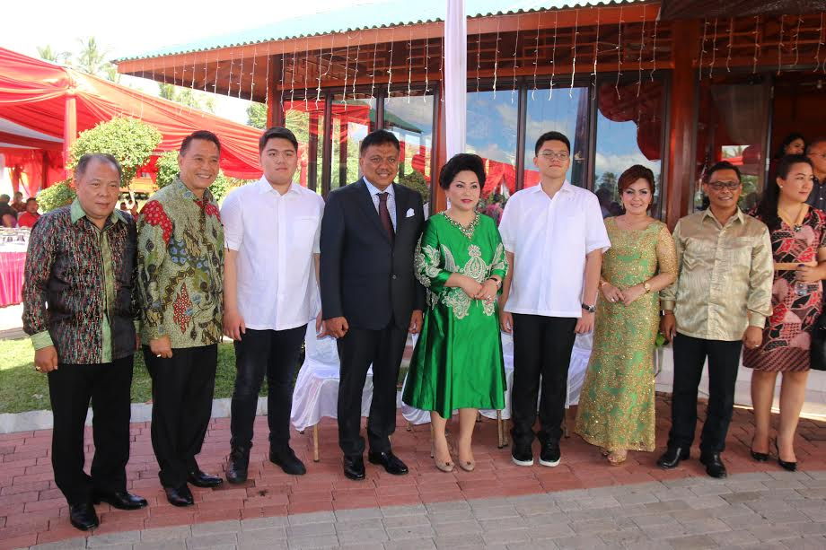 Wali Kota, Wawali, Sekkot  bersama Gubernur Sulawesi Utara
