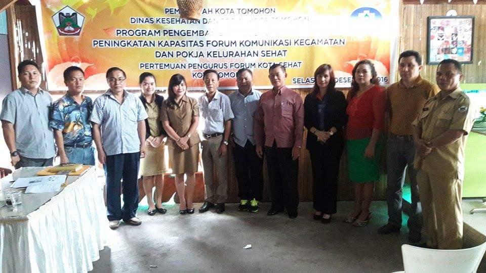 Forum Kota Sehat bersama instansi teknis