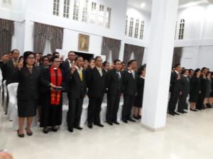Pejabat yang dilantik