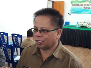 Kepala Badan Keuangan Daerah Kota Tomohon Drs Gerardus Mogi
