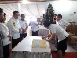 Sertijab Kasus Dikbud Kota Tomohon
