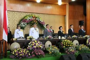 Wali kota, wawali, utusan pemprov dan Pimpinan DPRD Tomohon