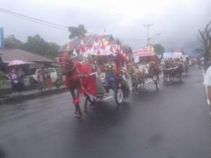 Festival Benteng Moraya , Karnaval Bendi Hias, Visit Pesona Minahasa 2017,