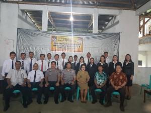 Pelantikan Perangkat Desa di Kecamatan Kumelembuai Tuntas