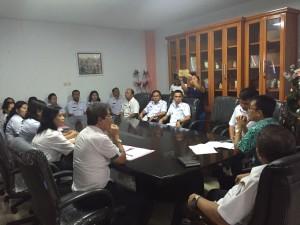 Senator SBAN Liow Inventarisasi Permasalahan Naker, Pariwisata, Narkotika dan UN
