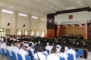 Rapat Paripurna dipimpin Ketua DPRD Ir Miky JL Wenur