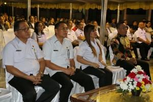 Wali Kota, Wakil Wali Kota dan Sekretaris Kota Tomohon di KKR