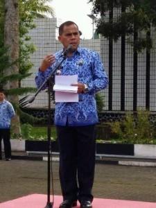 Pimpin Apel Korpri dan Penandatanganan Pakta Integritas, Bupati JWS: ASN Jangan Korupsi