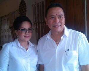 Wali Kota Jimmy F Eman SE Ak dan Wakil Wali Kota Syerly Adelyn Sompotan