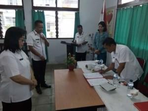 Heski Kumesan SH, Camat Tombatu , Martinus Ratulangi, Drs Piether Owu,
