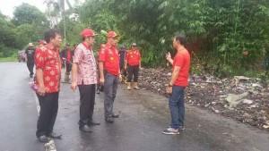 Tim Saber Sampah, Kecamatan Tombariri, Ricky Laloan SH,