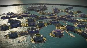 Polinesia Prancis , Kota Terapung, Seasteading Institute