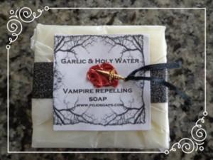 Sabun unik, Sabun , Garlic & Holy Water Vampire Repelling Soap