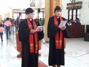 Pisah Sambut Pendeta di GMIM BaitEl Kamasi