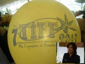 Tema TIFF uang dilaunching di setahun kepemimpinan wali kota dan wakil wali kota. (Inzet: Kadis Pariwisata Masna Pioh SSos