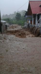 Banjir di Kelurahan Walian Dua Tomohon Selatan