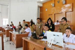 Wakil wali kota pantau langsung uji kompetensi tenaga kontrak