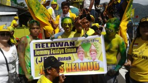 Relawan JFE siap menangkan Jabes-Helmud di Pilkada Sangihe
