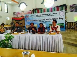 Sosialisasi dan Sksi Gerakan Kelestarian Lingkungan di Wilayah Tandengan