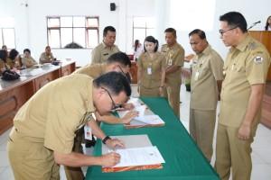 Penandatanganan Perjanjian Kinerja Organisasi
