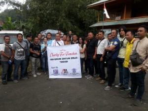 JIT, CV Anugerah Mulia dan Polres Tomohon Salurkan Bantuan ke Korban Banjir